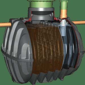 Graf Carat Septic Tank with mini dome