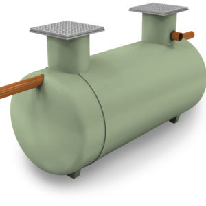 Clearwater Shallow Dig Septic Tank